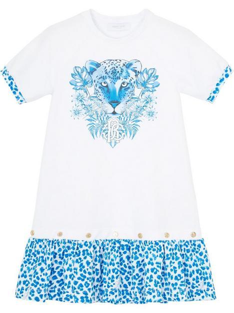 roberto-cavalli-tiger-face-a-line-dressnbsp--whiteblue