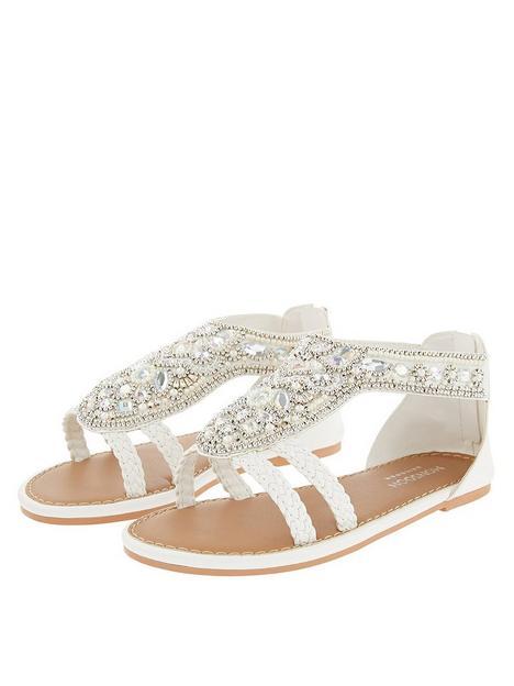 monsoon-girls-diamond-shape-beaded-sandal-white