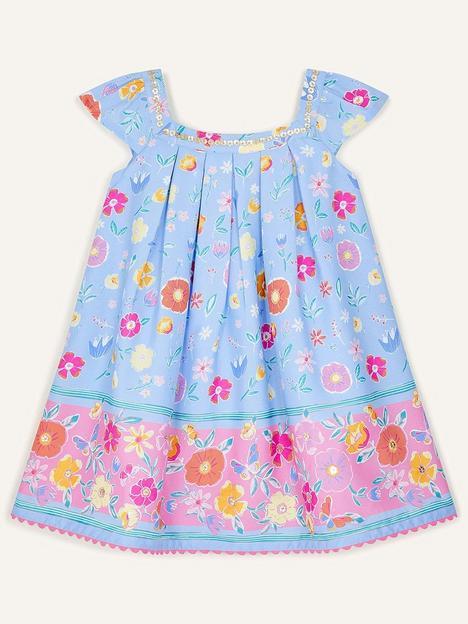monsoon-baby-girls-sketchy-floral-border-dress-blue