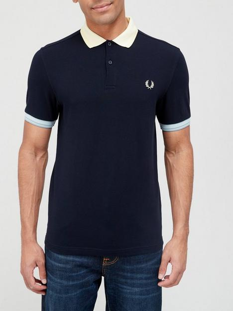 fred-perry-contrast-trim-polo-shirt-navy