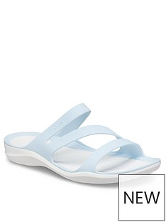 crocs-swiftwater-flat-sandals-blue