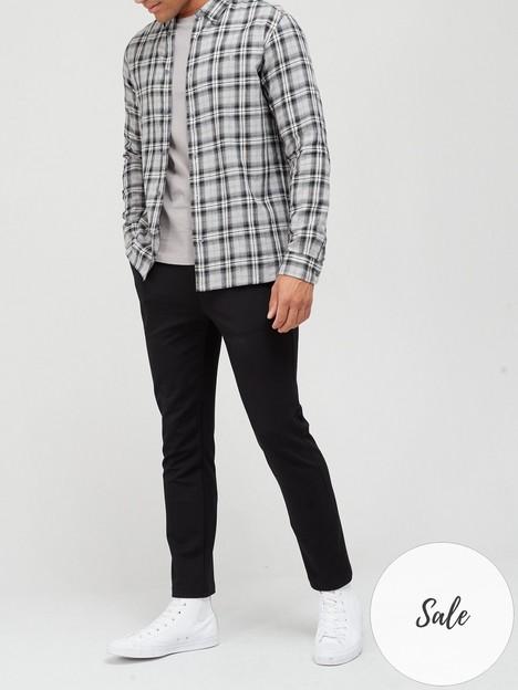 allsaints-kelross-check-shirt-grey