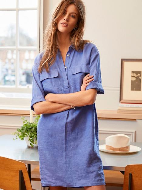 mint-velvet-linen-chuck-on-shirt-dress