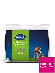 Silentnight Anti-Allergy Standard Pillows (Pair)