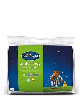 Silentnight Anti Allergy, Anti Bacterial Pillow Pair