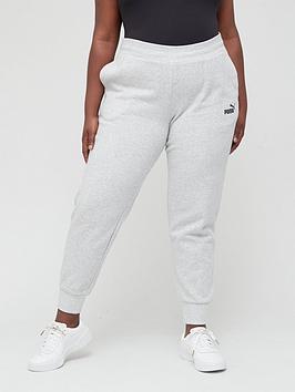 puma-essential-sweatpants-plus-size-grey