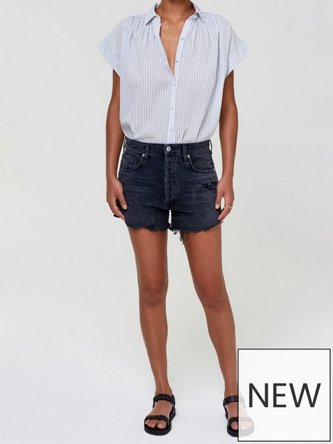 citizens-of-humanity-marlow-vintage-fit-shorts-black