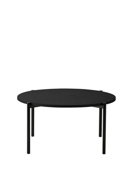 hudson-living-carbury-round-coffee-table-black
