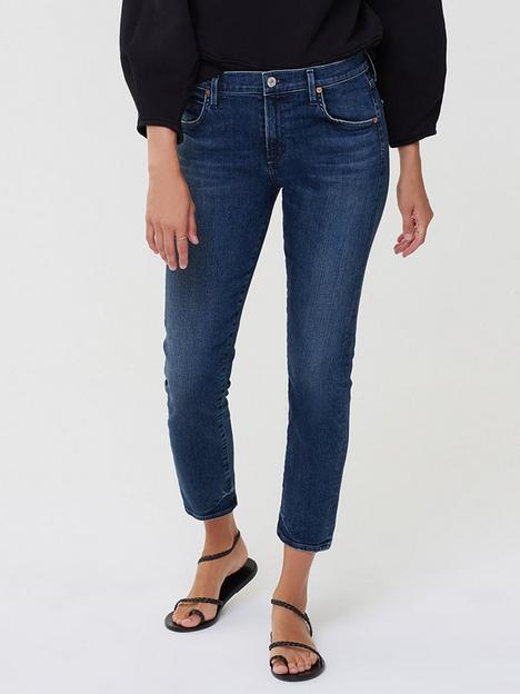citizens-of-humanity-elsa-mid-rise-slim-fit-crop-jeans-darkwash