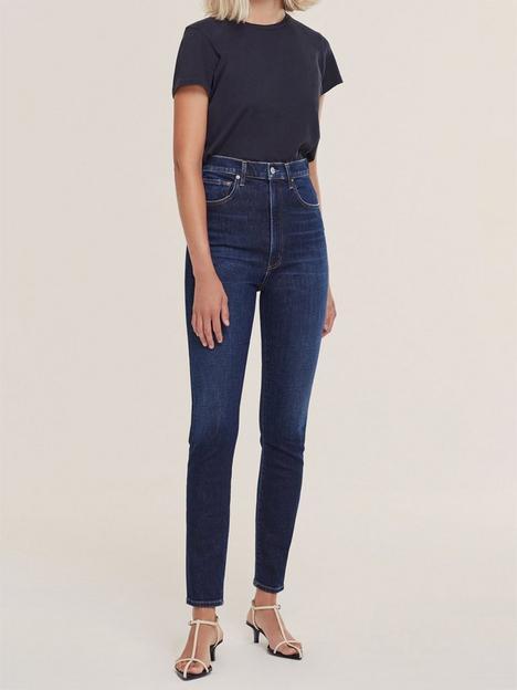 agolde-pinch-waist-ultra-high-rise-skinny-jeans-darkwash