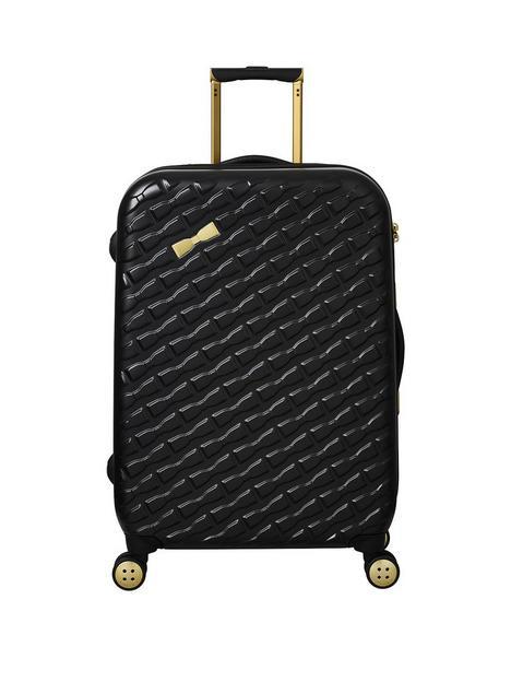 ted-baker-belle-medium-trolley-suitcase-black