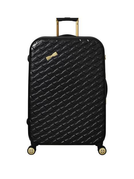 ted-baker-belle-large-trolley-suitcase-black