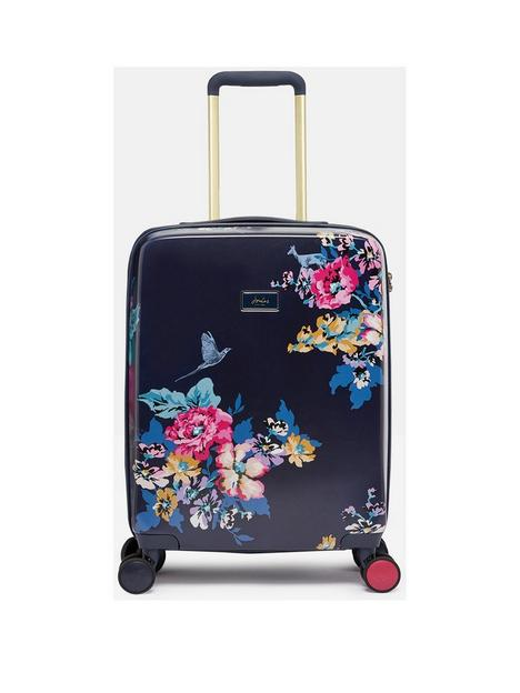 joules-cambridge-floral-cabin-trolley-suitcase