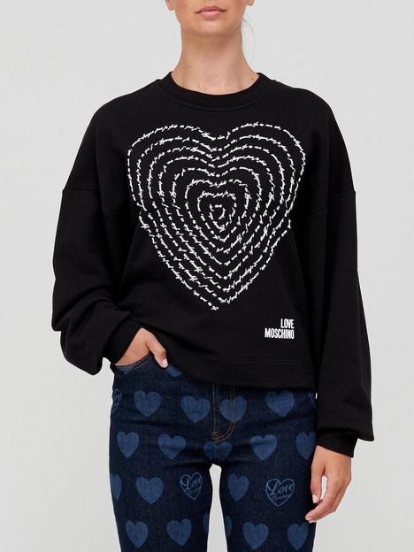 love-moschino-heart-logo-sweatshirt-black