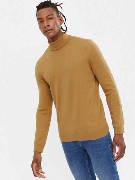 new-look-mens-roll-neck-knit