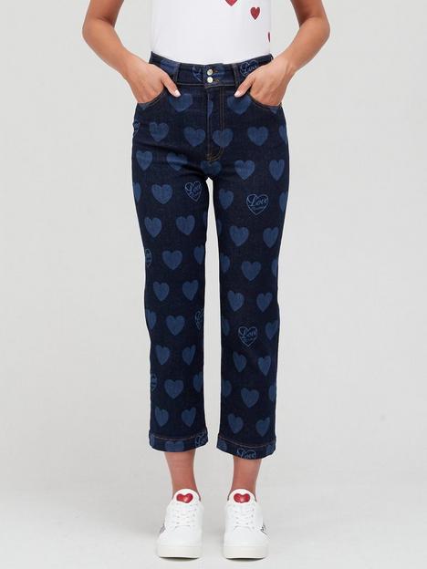 love-moschino-heart-printnbspboyfriend-fit-jeansnbsp--blue