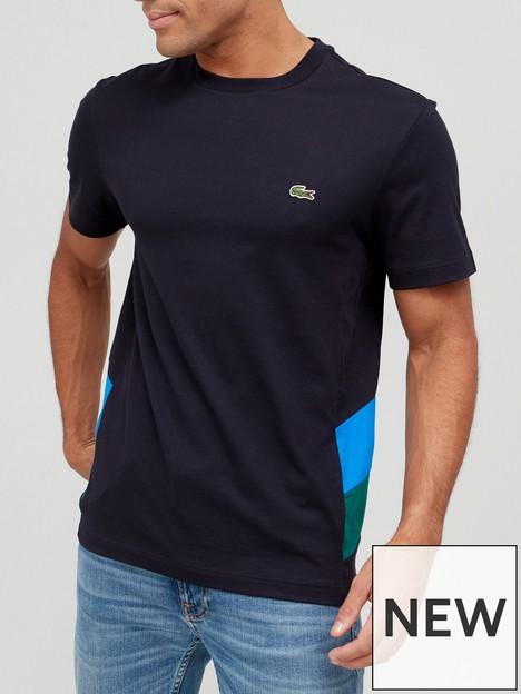 lacoste-lacoste-colour-block-short-sleeve-t-shirt