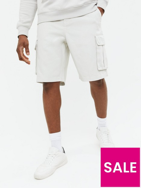 new-look-mens-loose-fit-twill-cargo-short