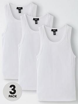 new-look-915-boysnbsp3-packnbspribbed-vests-white