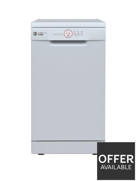 hoover-hdph-2d1049w-freestanding-slimline-10-place-dishwasher-white