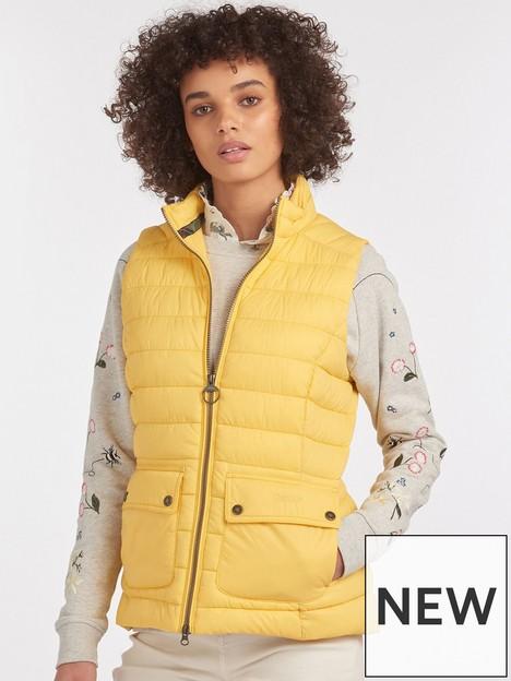 barbour-epsom-lightweight-gilet-yellow