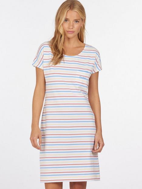 barbour-harewood-stripe-jersey-dress-multi
