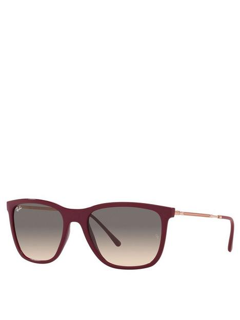 ray-ban-wayfarer-sunglasses-red