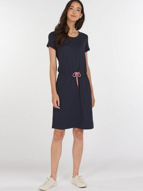 barbour-barbour-baymouth-tie-waist-jersey-dress-navy