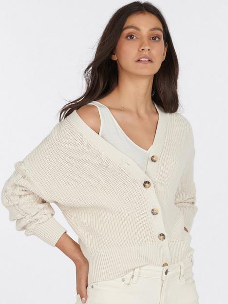 barbour-balmory-cardigan-beige