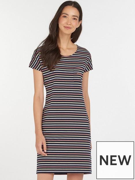 barbour-harewood-stripe-jersey-dress-navy