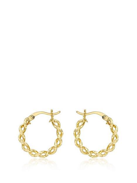 love-gold-9ct-yellow-gold-175mm-diamond-cut-twist-creole-hoop-earrings