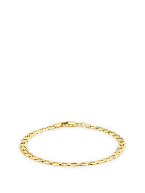 love-gold-love-gold-9ct-yellow-gold-diamond-cut-flat-curb-bracelet-20cm8