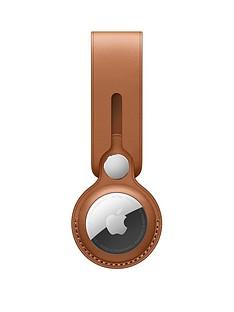 apple-airtag-leather-loop-saddle-brown