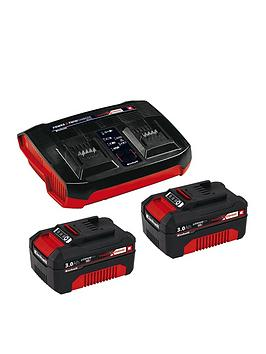 einhell-einhell-power-x-change-18v-twin-charger-2-x-30ah-batteries
