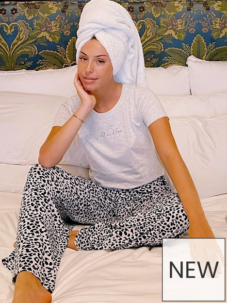 boux-avenue-wild-amp-free-tee-and-pant-pjs-blue