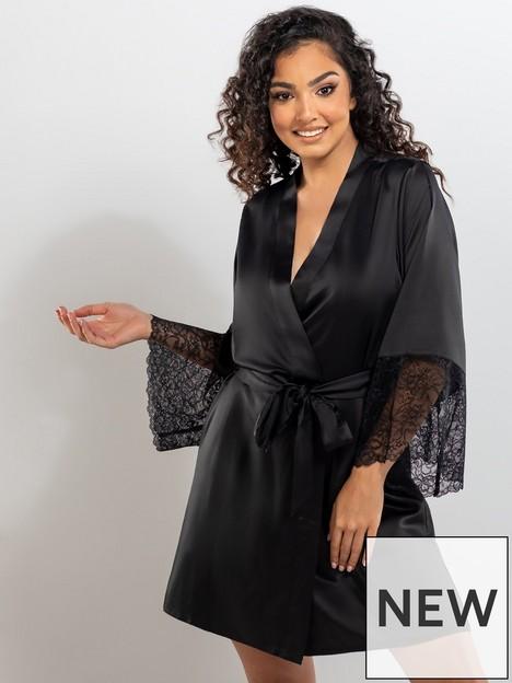 boux-avenue-harlie-lace-robe-black
