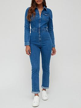 v-by-very-fitted-denim-jumpsuit-dark-washnbsp