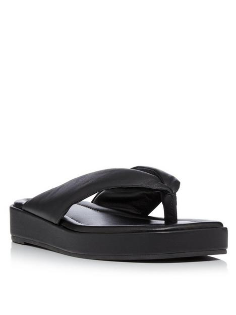 dune-london-longisland-flip-flop-black