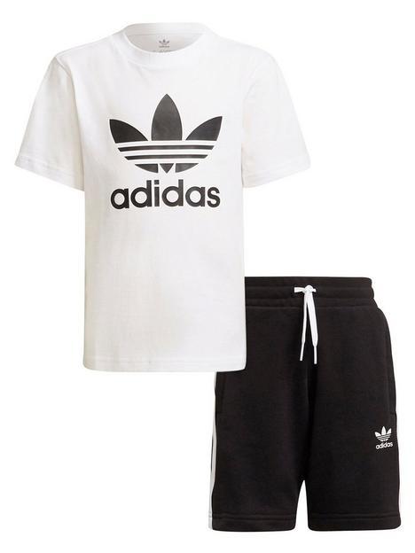 adidas-originals-adidas-originals-kids-unisex-short-tee-set