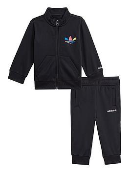 adidas-originals-infant-unisex-adicolor-tracksuit-set-black