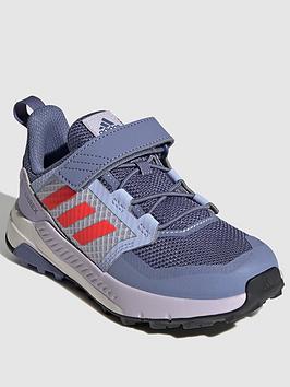 adidas-kids-unisex-terrex-trailmakernbspshoesnbsp--purplered