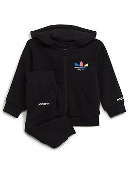adidas-originals-adidas-originals-infant-unisex-full-zip-hoody-set