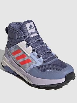 adidas-kids-unisex-terrex-trailmaker-mid-rainrdynbsp--purplered