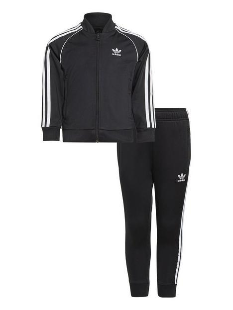 adidas-originals-kids-unisex-superstar-tracksuit-blackwhite