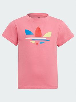 adidas-originals-kids-unisex-t-shirt-pink