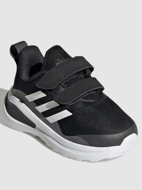 adidas-infant-unisex-fortarun-trainers-blackwhite