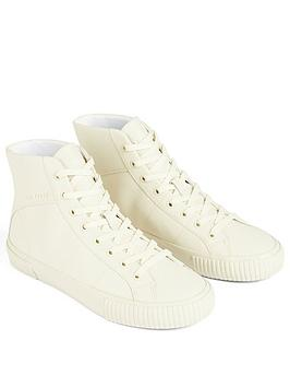ted-baker-kimyil-leather-colour-drench-high-top-vulcanised-trainer-ecru
