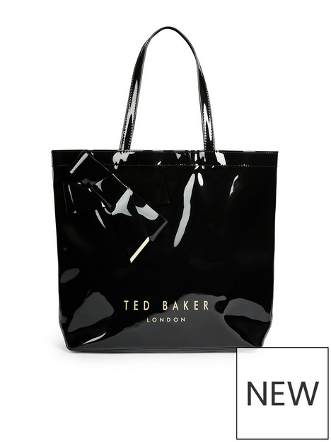 ted-baker-nicon-knot-bow-large-icon-tote-black