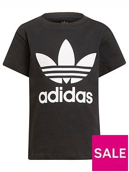 adidas-originals-adidas-originals-kids-unisex-trefoil-t-shirt