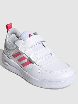 adidas-kids-unisex-tensaur-trainer-whitepink